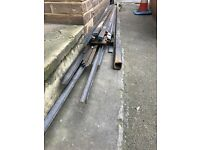 ASSORTED STEEL LENGTHS - SEE DESCRIPTION FOR SIZES