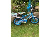 Apollo kids 14 inch wheel police themed bike