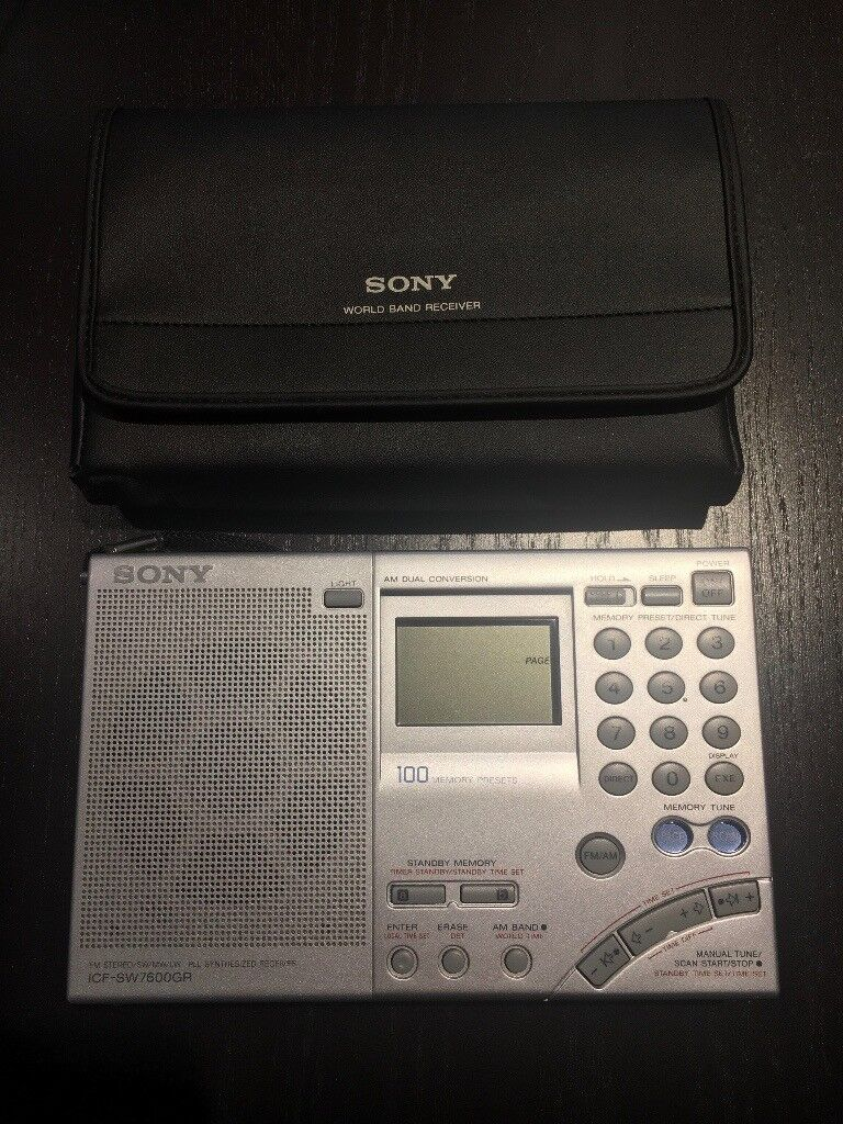Sony ICF-SW7600GR Shortwave Radio - Excellent Condition | in Chelsea,  London | Gumtree