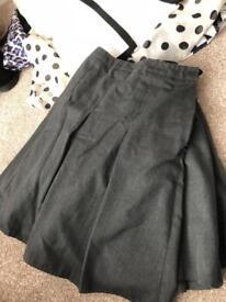 Girls school skirts age 9.10 upwards