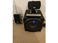 5.1 Multimedia Surround Sound Speaker Subwoofer System - Xenta with remote !Not Available anymore!