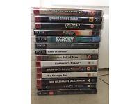 14 Sony Playstation 3 Games - £40