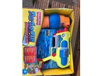 Turbo refill water gun
