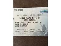 NOW SOLD 2 x platinum tickets to Still Game Sunday 5th February 14:30