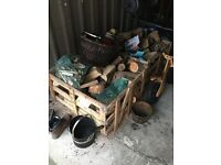 FREE Wooden Crate good for logs for wood burner