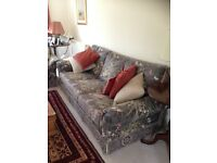 Wade 3-piece sofa and chairs plus footstool for sale