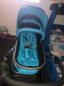 Isafe travel system 2in 1