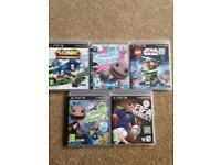 Barely used PS3 games