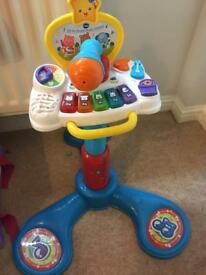 Vtech sitting to standing toy musical toddler
