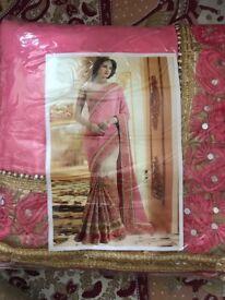 Asian Pakistani/ Bollywood designers saree