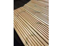 Decking boards £2 per metre pressure treated