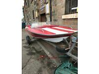 Speed boat Plancraft stingray & trailer