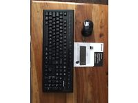 Wireless Keyboard and Mouse as New