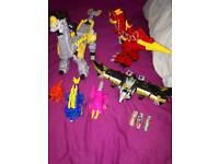 Power Rangers Dino Super charge Megazord bundle