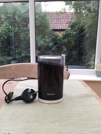 Tefal Coffee Grinder With Twin Stainless Steel Blades 75g Capacity New