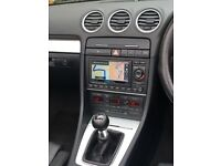 2009 Audi A4 cabirolet 2.0 TDI facelift edition manual transmission - good condition BARGAIN BUY