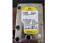 WD 2TB hard drive