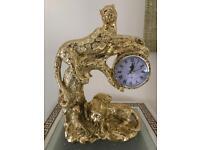 Large panther clock