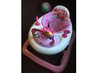 Pink Bright starts baby walker!