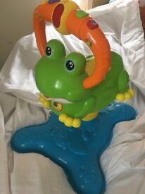 Children's VTECH bounce frog