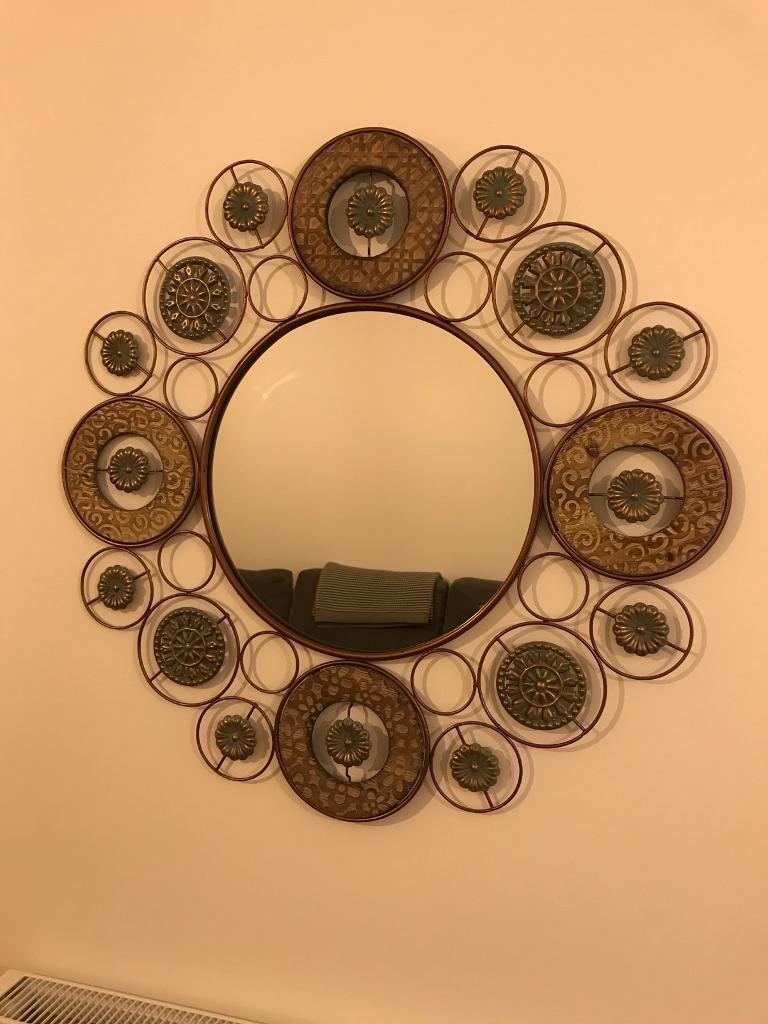 The Range Wall Mirror Copper Effect In Plymouth Devon Gumtree