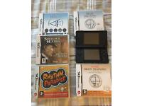 Nintendo DS Light With 5 Games
