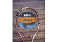 NEW Wilson Women's BLX coral reef racket