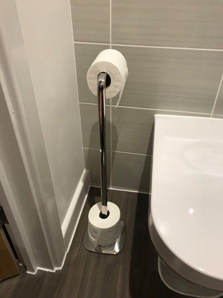 Freestanding Robert Welch Burford Toilet Roll Holder