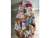 3-6 months Bundle of Girls clothing- 63 items!!