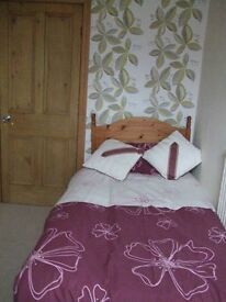 Bedrooms to rent with shared lounge kitchen/diner & 4 piece bathroom Warbreck Drive area bus route