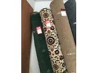 Wilton roll end carpets