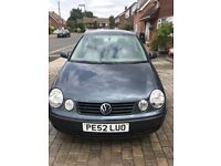 Volkswagen Polo 1.2 2002 (Spares or repairs)