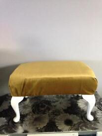 Footstool mustard