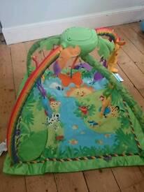 Fisherprice rainforest baby gym