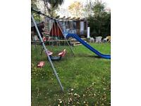 Tp activity climbing frame slide see saw swing