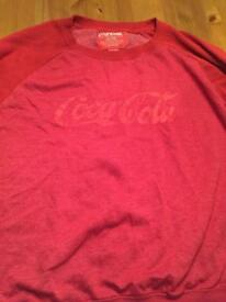 Official Coca-Cola Branded jumper XXL