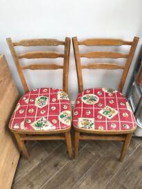 Original 1950's kitchen chairs