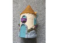 Girls toy accessories Disney Princess carry castle