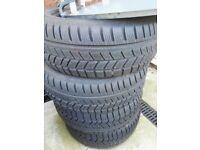Avon 4x winter tyres 215 55 16