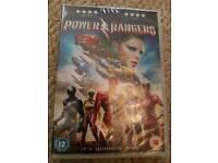 Power rangers brand new dvd
