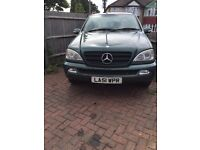 2002 MERCEDES BENZ ML CLASS | AUTOMATIC | 2.6 DIESEL | 7 SEATER FOR SALE