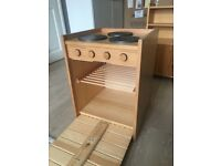 Wooden toy kitchen for sale