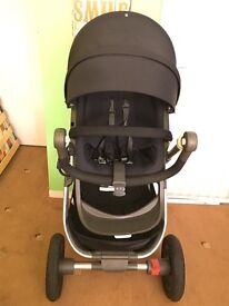 Stokke Trailz in black. Only used for 6 months.
