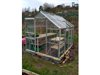 Geenhouse 8x6 with delivery