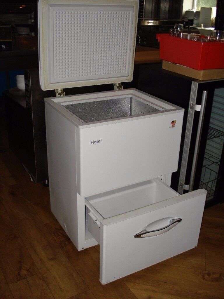 HAIER CHEST FREEZER WITH DRAWER