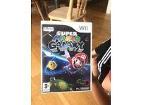Wii game super mario galaxy