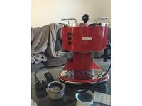 DeLonghi ICONA 130 Red Espresso Coffee Machine