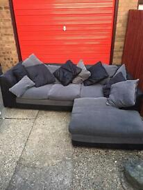L shape sofa clean can deliver