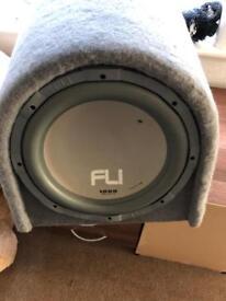 Fli 1000w car sub