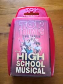 High School Musical top trumps
